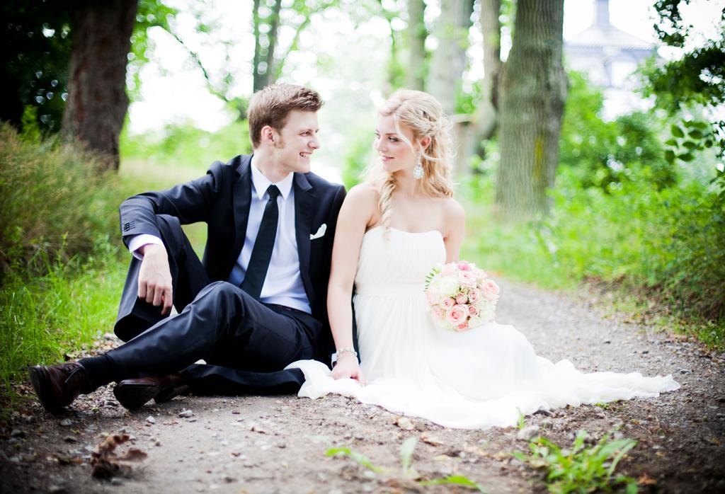 Bröllopsfotograf på Ekerö, Sanna & Joel