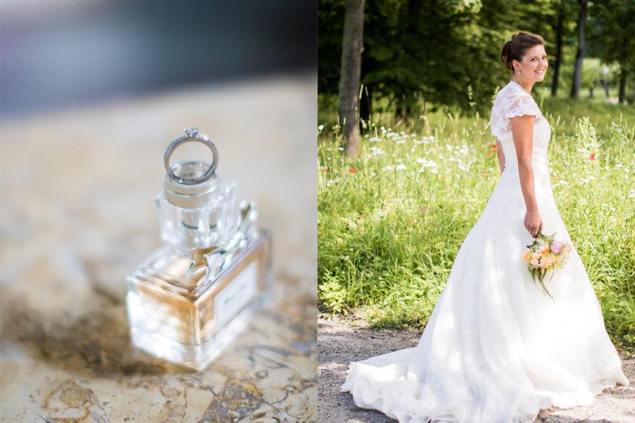 <span>Bröllopsfotograf Ekerö</span>Svartsjö Slott, Ekerö – Felicia & Per