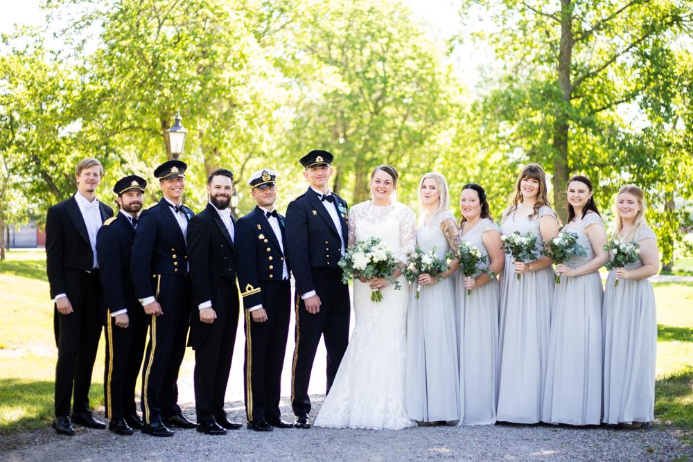 <span>Bröllopsfotograf Bro/Bålsta & Enköping</span>Villa Aske, Bro – Officersbröllop